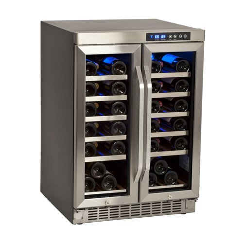 edgestar_36_bottle_built-in_dual_zone_wine_cooler