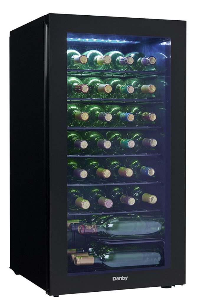 Danby DWC032A2BDB 36 Bottle Wine Cooler