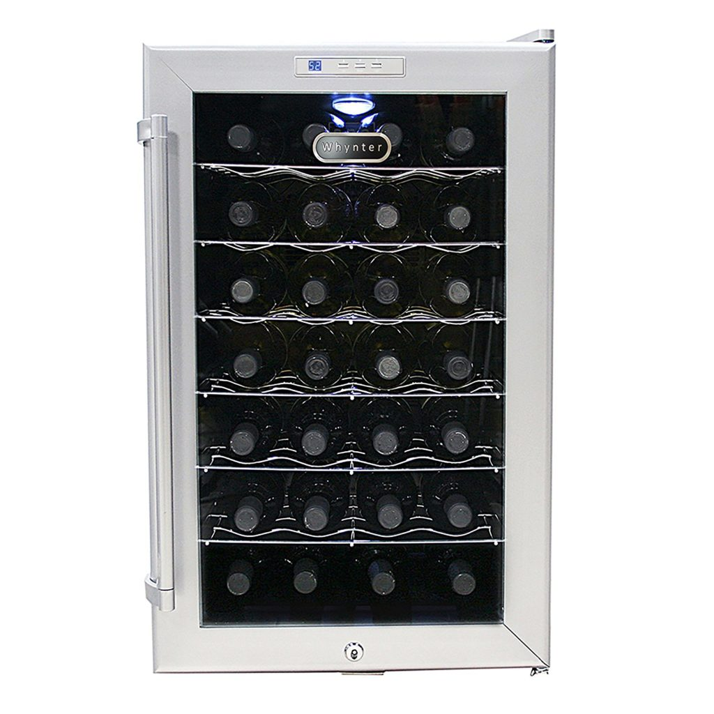 Whynter WC28S SNO 28 Bottle Wine Cooler