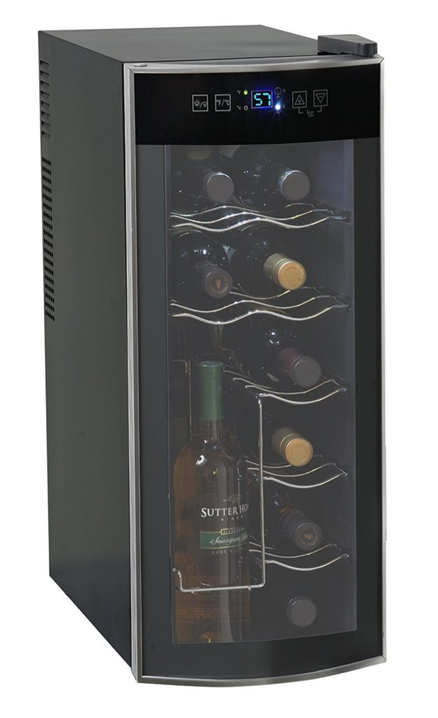 Avanti 12 Bottle Countertop Wine Cooler